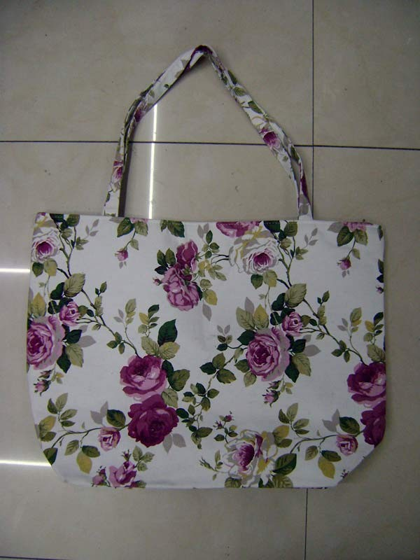 Flower Cotton Shopping bag