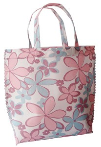 Flower Non Woven  Shopping bag With Lamation