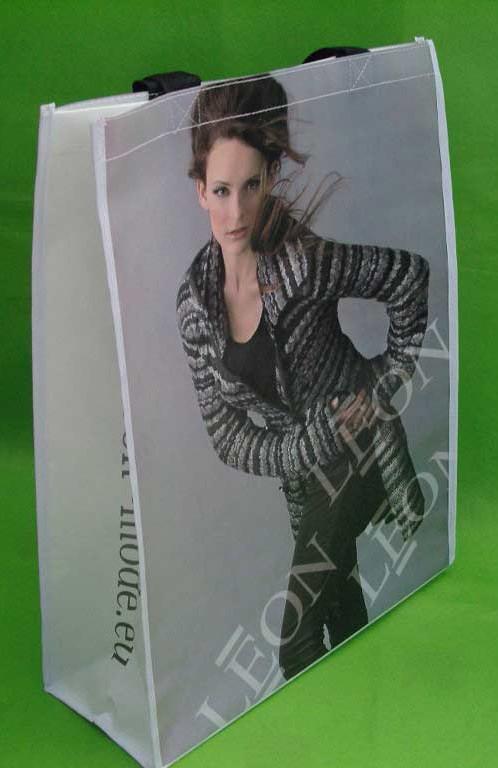 Gray Non Woven Shopping bag