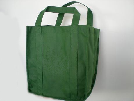 Green  80GSM Non Wonven Shopping bag