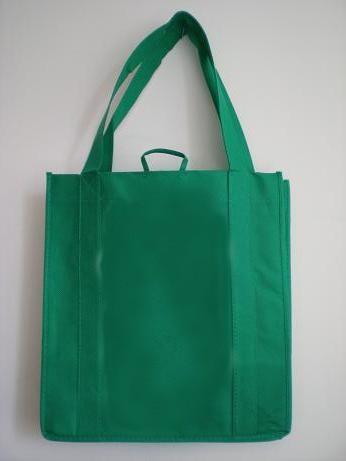 Green  80GSM Non Wonven Shopping bag