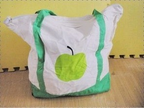 Green Apple  Polyster Shopping bag