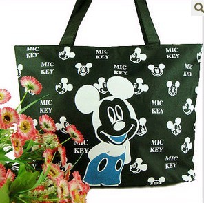 Green Cotton Shopping bag