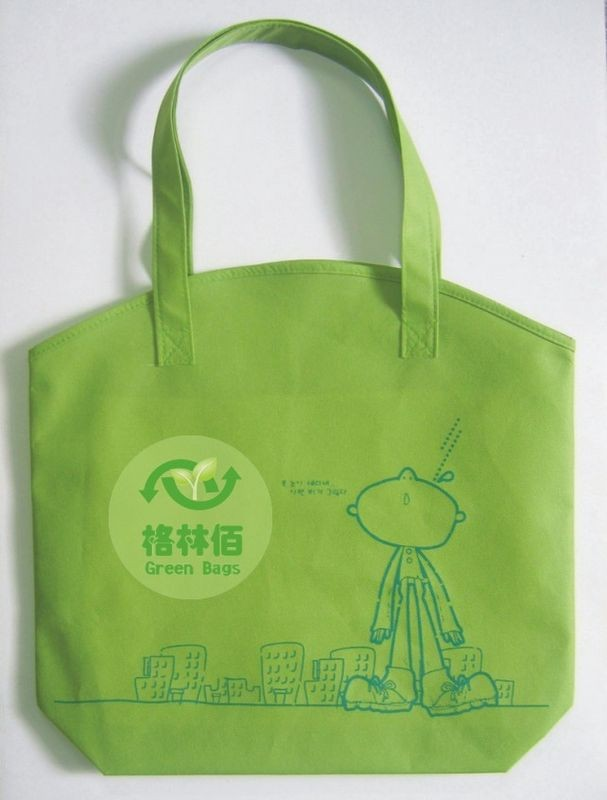 Green Non Wonven Shopping bag