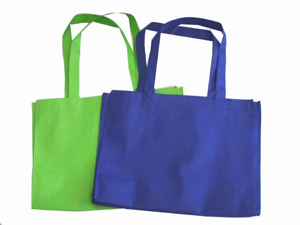 Green Non Woven Fashion Shopping bag