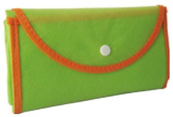 Green foldable Non Woven Shopping bag
