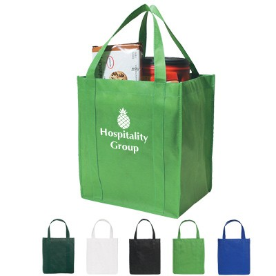 Green foldable Non Woven Shopping bag