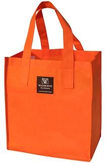 Orange  Fashion Shopping bag