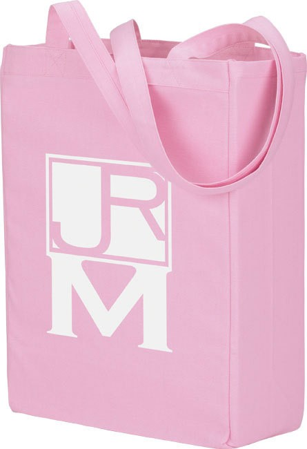 Pink  Flower Non Woven Shopping bag