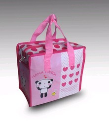 Pink Non Woven Shopping bag