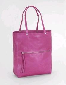 Purple PVC Shopping bag