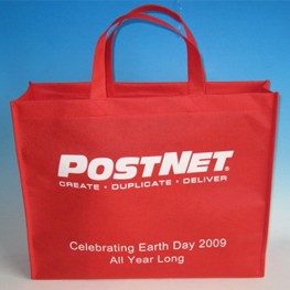 Red Non Woven Shopping bag