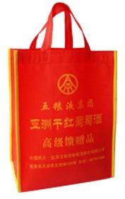 Red Non Woven Shopping bag