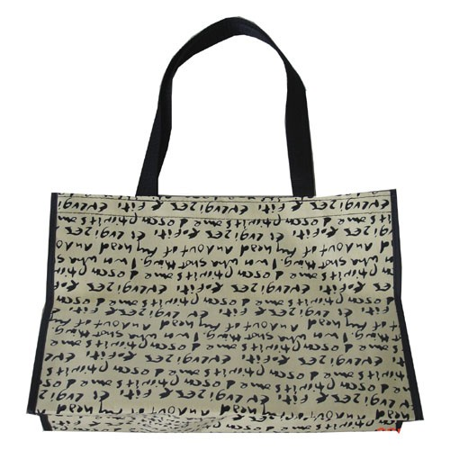Whie PP woven bag With Lamation