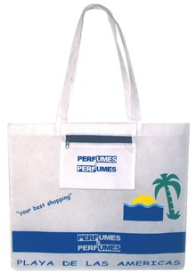 Whire 80GSM Non Wonven Shopping bag