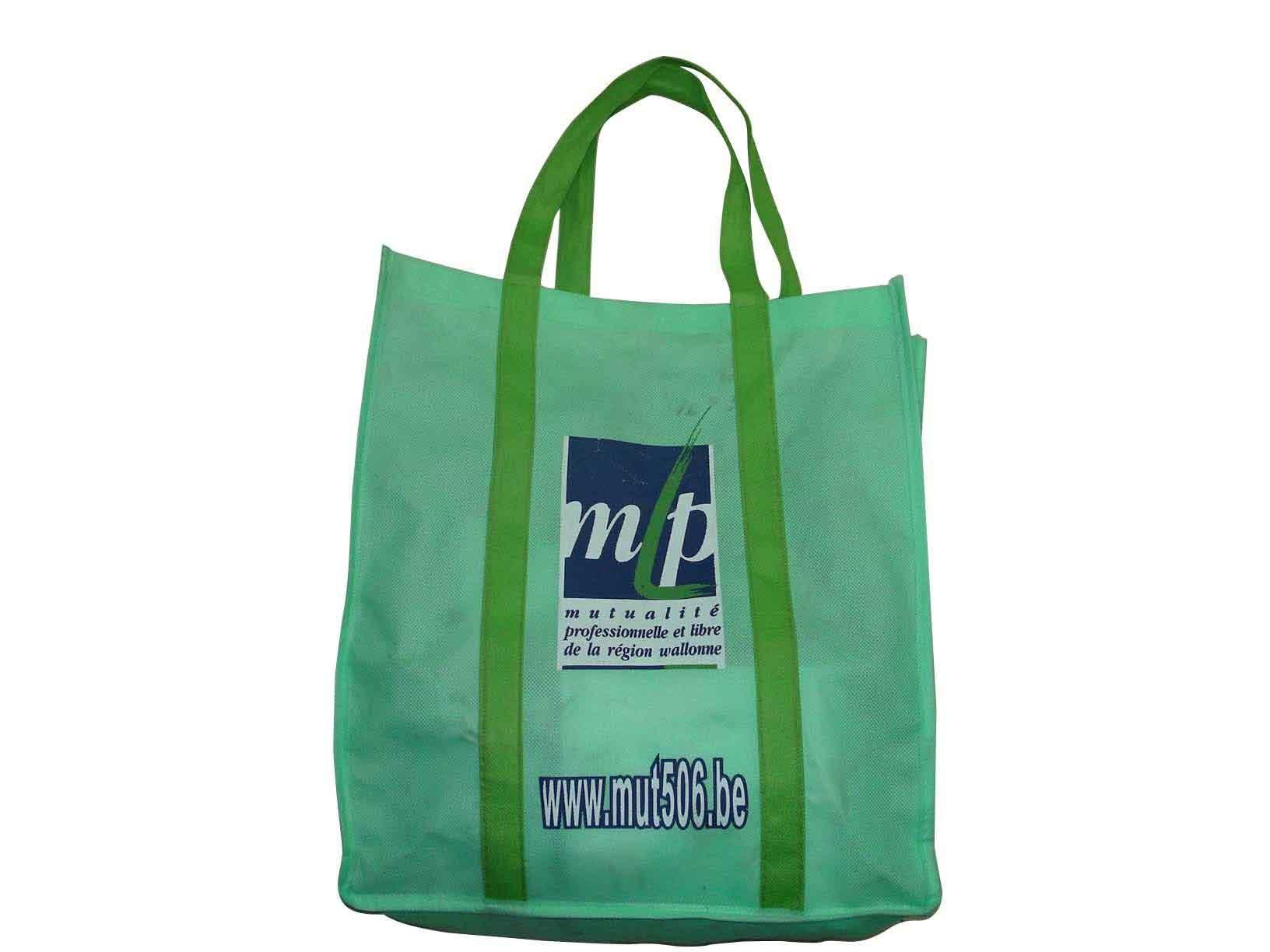White  Non Woven Shopping bag