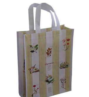 White  PP-woven bag With Lamation