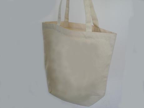 White 10OZ Cotton Shopping bag