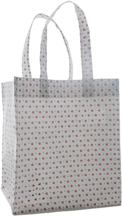 White 80GSM Non Wonven Shopping bag