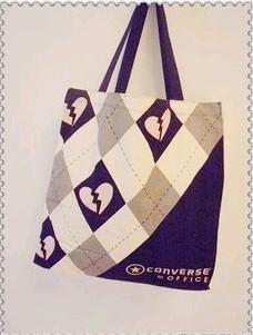 White Cotton Shopping bag