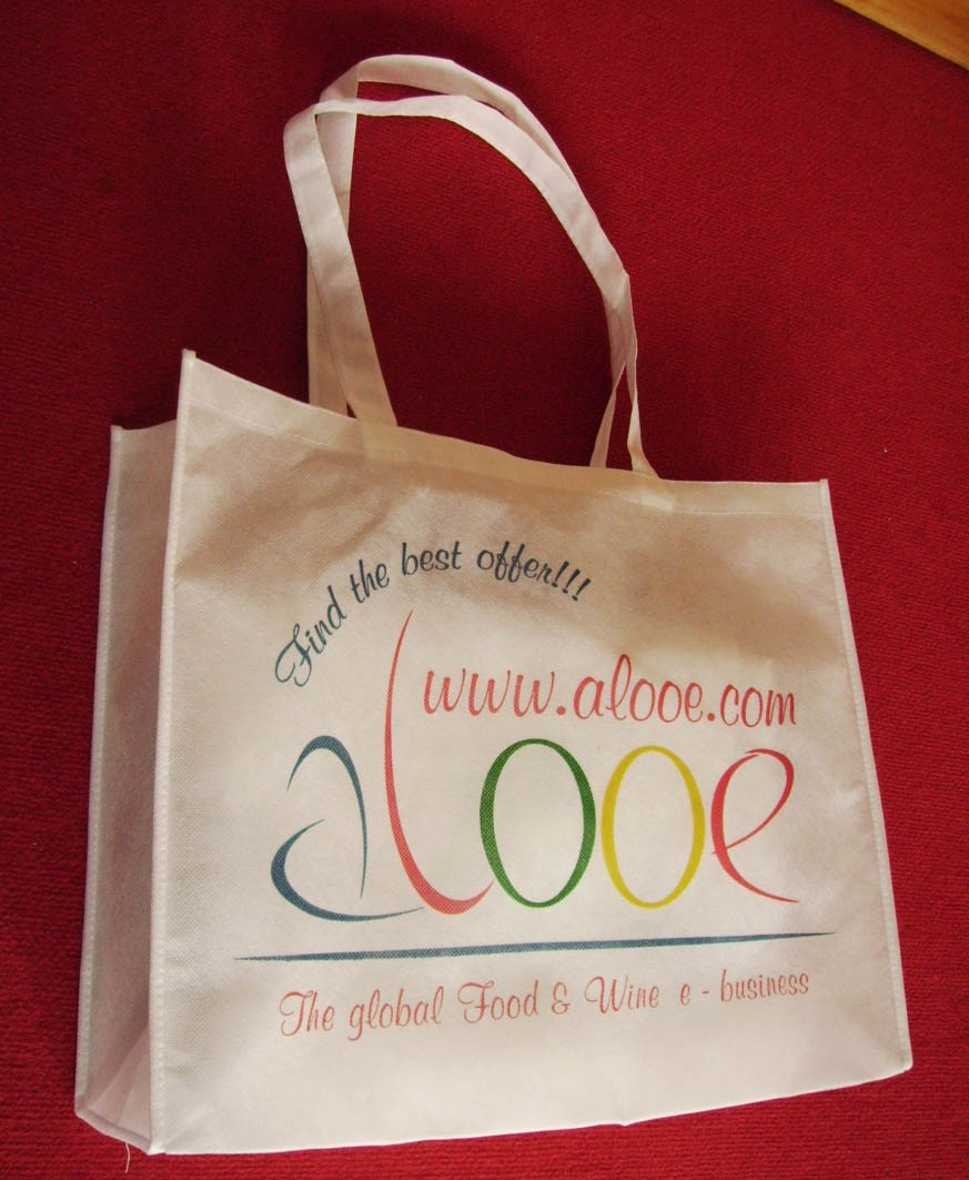 White Fashion Shopping bag