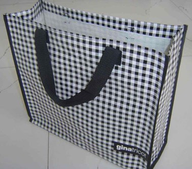 White Non-woven bag With Lamation
