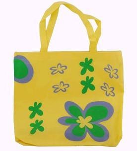 Yellow Non-Woven Shopping bag