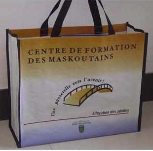 non-woven shopping bag  Wish lamation