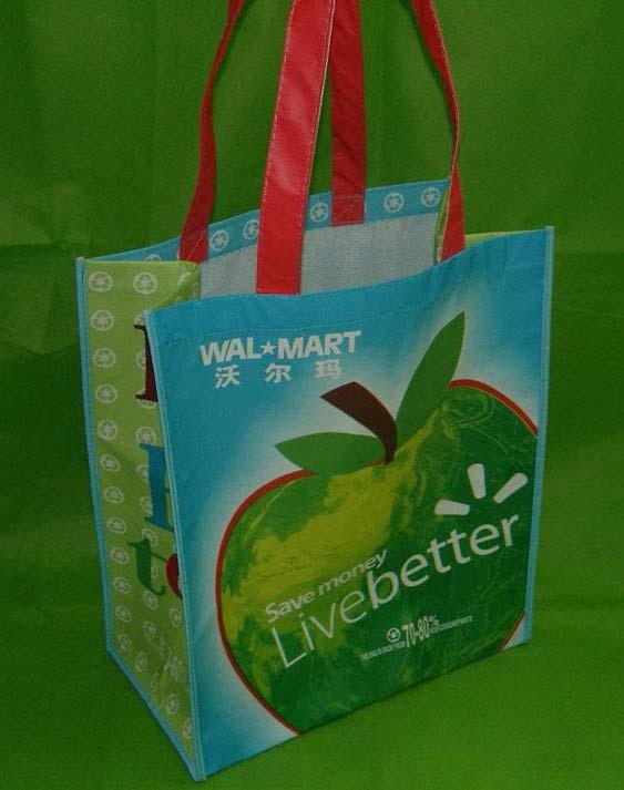 opp laminated non-woven shopping bag