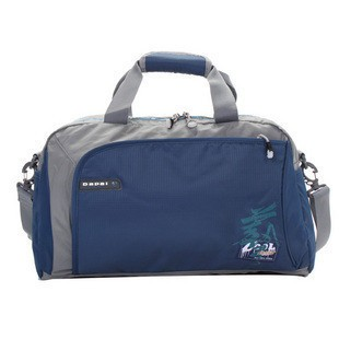 Blue Polyster sports bag