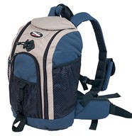 Blue sports backpack bag