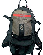 Brown  backpack sports bag
