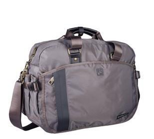 Gray Polyster  sports bag
