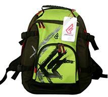Green backpack sports bag