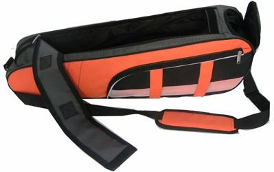 Orange Polyster sports bag