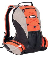 Orange big Mountain sports bag