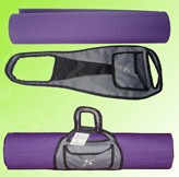 Purple  Polyster  sports bag