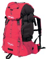 Red big Mountain sports bag