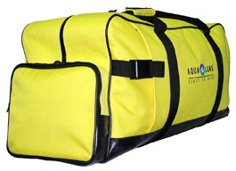 Yellow Polyster  backpack sports bag