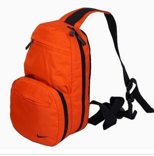 Yellow Polyster  sports bag