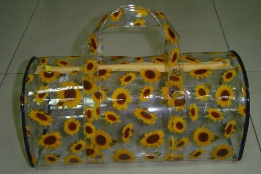 Flower round Toliet Bag