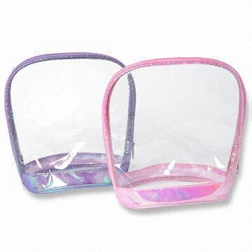 Girl's Clear PVC Cosmetic bag