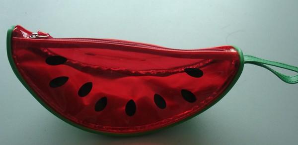 Watermelon Shape  PVC Toliet Bag