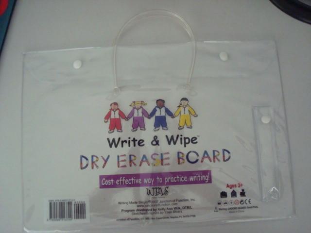 White Toliet Bag