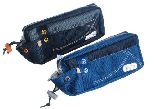 Blue Polyster  pencil bag