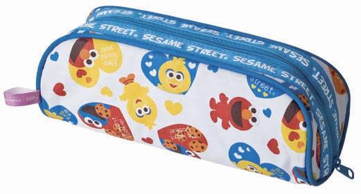 Blue promotion pencil bag