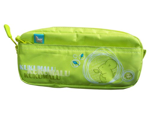 Green promotion pencil bag