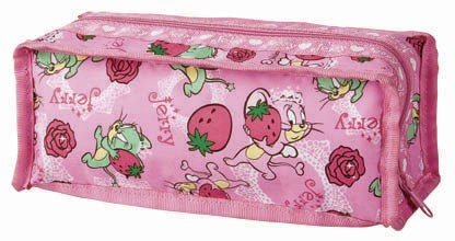 Pink promotion pencil bag
