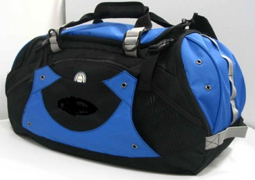Blue 600D Duffle Travel Bag