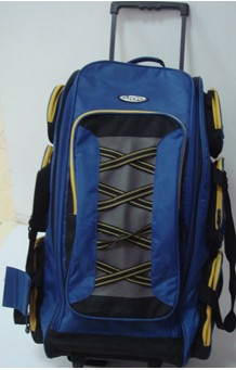 Blue Fashion but simple travel bag